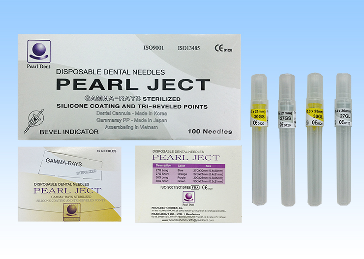 Disposable Dental Needle - mm Type